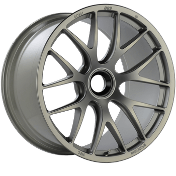 BBS Magnesium Mag Wheels in Silver 20x9 and 20x12 Porsche GT3 GT3RS
