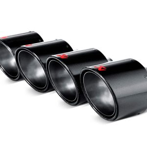 Akrapovic 06-13 Chevrolet Corvette ZO6/ZR1 (C6) Tail Pipe Set (Carbon 115 mm)