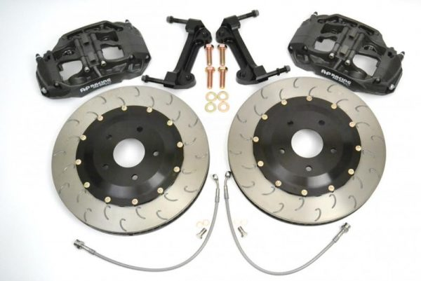 Essex AP Racing Radi-CAL Competition Brake Kit (Front 9661/394mm) Porsche 981 GT4