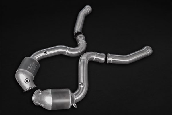Capristo 200 Cell Sports Cat Downpipes - C63/S AMG (W205)