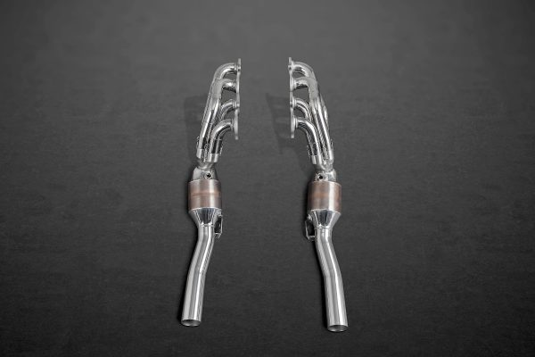 Capristo 200 Cell Sports Cat Headers with Post Cat Delete - C63 AMG (W204)