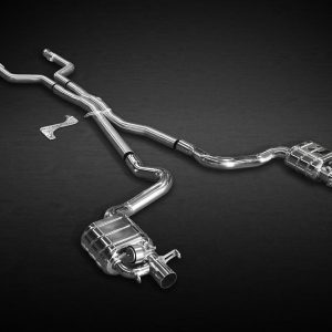 Capristo BiTurbo Valved Exhaust Catback CES3 with Remote - C63/S AMG (W205)