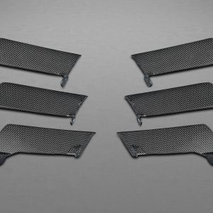 Capristo Carbon Air Outlet Ribs - 458 Speciale