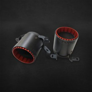 Capristo Carbon Fiber Exhaust Tips - Huracan