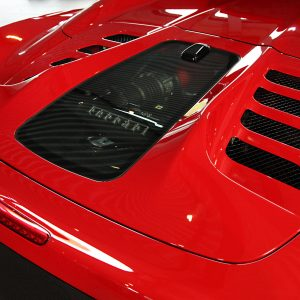 Capristo Carbon and Glass Bonnet Raw - 458 Italia / 458 Spider