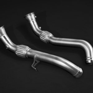 Capristo Cat Delete Downpipes (with Heat Blankets) McLaren 570S 540C 600LT 650S MP4-12C