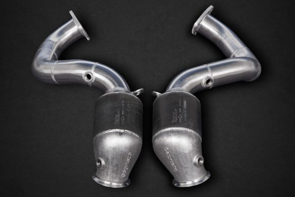 Capristo Cat Delete Downpipes with Heat Blankets - NEW VANTAGE, AMR