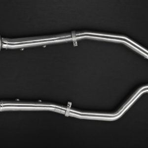 Capristo Cat Delete Pipes for OEM - GLE (W166)