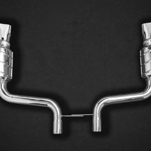 Capristo Catback Exhaust CES3 with Remote - E-AMG (C238)