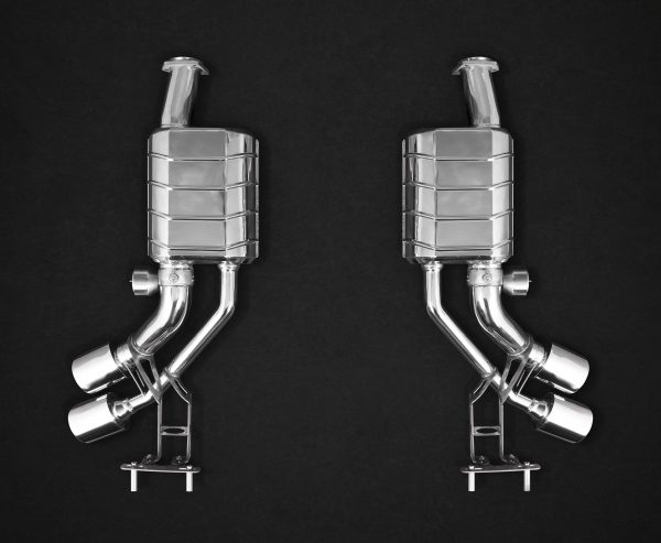 Capristo ECE Valved Dual Mufflers CES3 with Remote - G-AMG (W463)