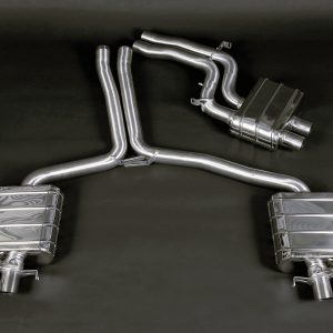 Capristo ECE Valved Exhaust with Middle Silencer Pipes - RS4 / RS5 (B8)