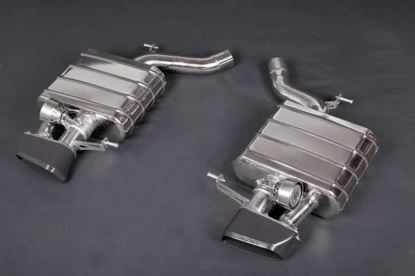 Capristo ECE Valved Mufflers with Ceramic Tips CES3 with Remote - 6 Series (F12/F13), 6 Series Gran Coupe (F06)