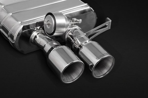 Capristo ECE Valved Mufflers with Stainless Tips CES3 with Remote - 6 Series (F12/F13), 6 Series Gran Coupe (F06)