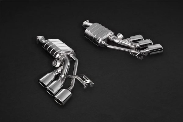 Capristo ECE Valved Triple Mufflers CES3 with Remote - G-AMG (W463)