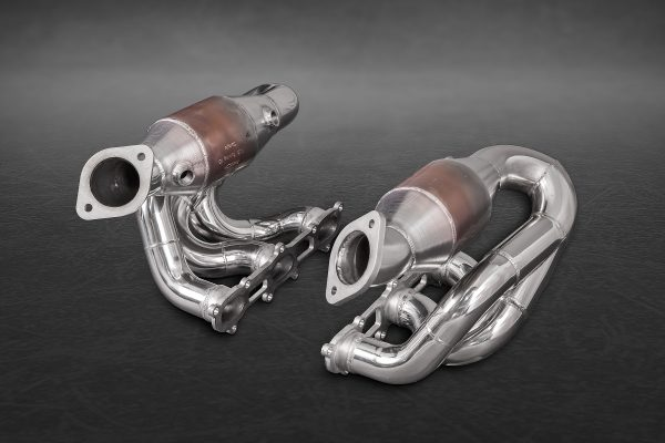Capristo Headers with Sports Cats - 981 Boxster/Cayman/GT4