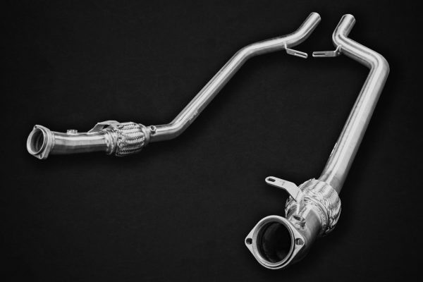Capristo Middle Silencer Spare with Cat Delete - SL-AMG (R231)