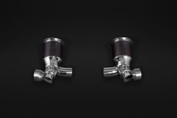 Capristo Valved Cat Delete Pipes - 991 GT2 RS