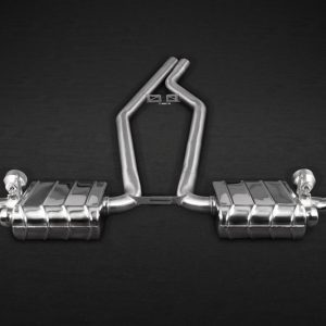 Capristo Valved Exhaust (CES3) with Remote CAYENNE (958.2) CAYENNE S (958.2)