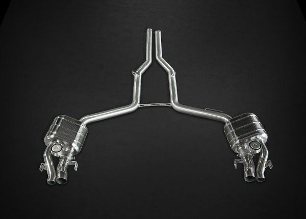 Capristo Valved Exhaust CES3 with Remote - E-AMG (W212)