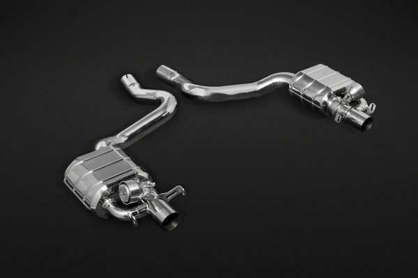 Capristo Valved Exhaust Mid-Pipe CES3 with Remote - C-CLASS (S205)