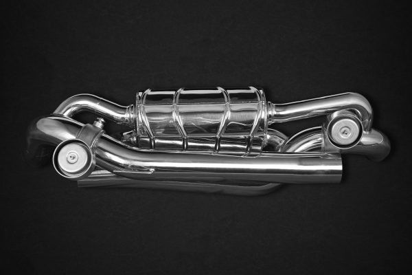 Capristo Valved Exhaust with 200 Cell Sports Cats (CES3) - 911 Carrrera (992)