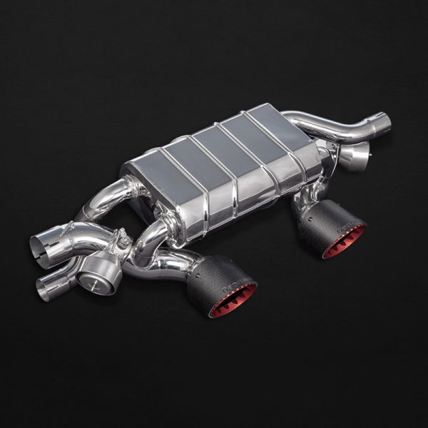 Capristo Valved Exhaust with Carbon Tips for PSE - 911 Carrera (991.2)