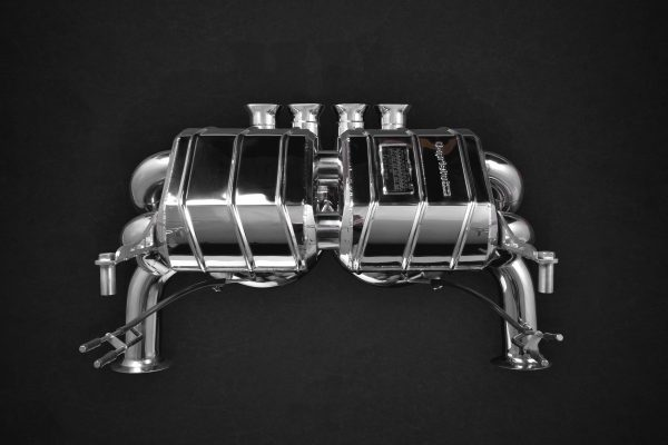 Capristo Valved Exhaust with Carbon/Stainless Frame - LP 750 Aventador SV