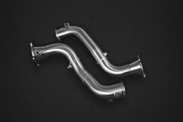 Capristo Valved Exhaust with Cat Delete Pipes (with Heat Blankets) (CES3) with Remote McLaren 720s