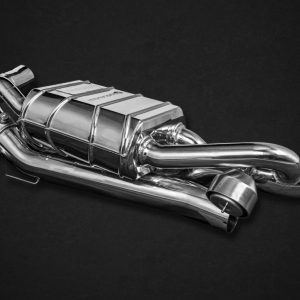 Capristo Valved Exhaust with Cat Spare Pipes - 992 Carrera/S