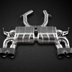 Capristo Valved Exhaust with Ceramic Tips CES3 with Remote - M3 (F80), M4 (F82/F83)