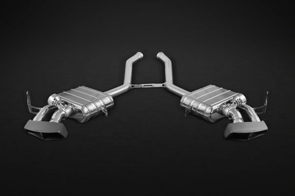 Capristo Valved Exhaust with Ceramic Tips CES3 with Remote - ML (W164)