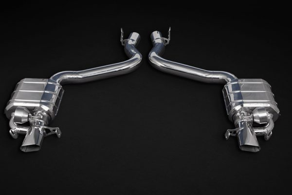 Capristo Valved Exhaust with Mid-Pipes CES3 with Remote - AMG GT