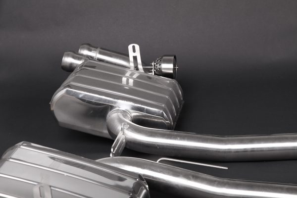 Capristo Valved Exhaust with Mid-Pipes (CES3) with Remote Cayenne Turbo Turbo S 958
