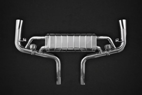 Capristo Valved Exhaust with Mid-Pipes CES3 with Remote - GLE (W166)
