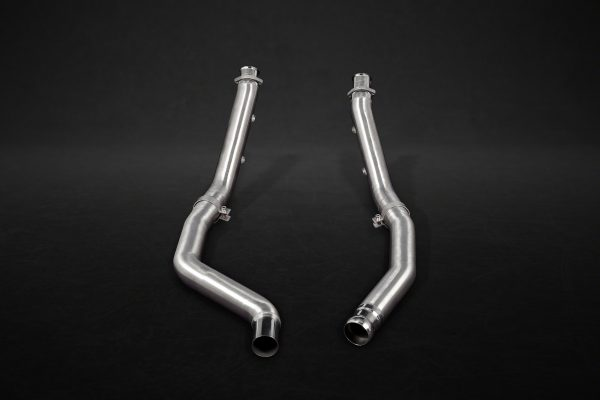 Capristo Valved Exhaust with Mid-Pipes CES3 with Remote - GLE (W166), GLE (C292)
