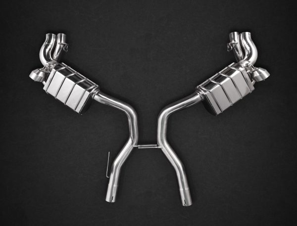 Capristo Valved Exhaust with Mid-Pipes CES3 with Remote - S-AMG (C217)