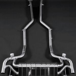 Capristo Valved Exhaust with Mid-Pipes CES3 with Remote - SLS-AMG (R197)