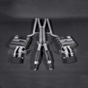 Capristo Valved Exhaust with Mid-Pipes - RS4 (B7)
