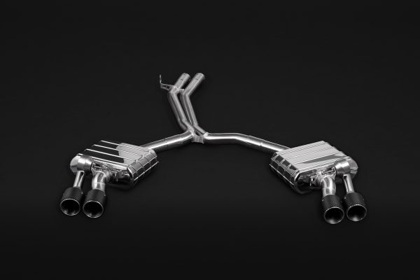 Capristo Valved Exhaust with Mid-Pipes and Carbon Tips CES3 with Remote - S4 / S5 (B9)