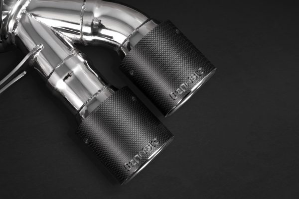 Capristo Valved Exhaust with Mid-Pipes and Post-Cat Pipes CES3 with Remote - M6 (F12/F13), M6 Gran Coupe (F06)