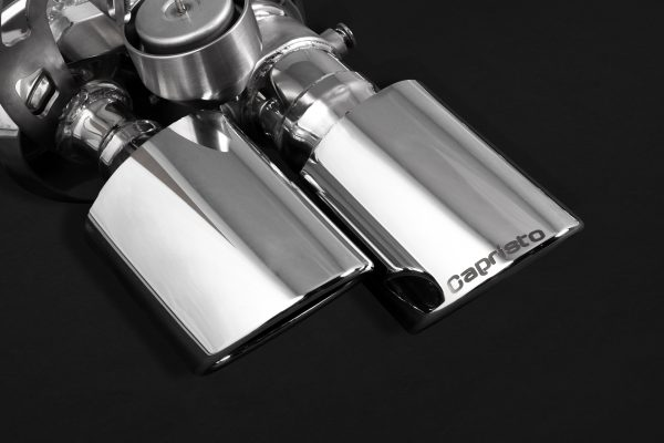 Capristo Valved Exhaust with Mid-Pipes and Stainless Tips (CES3) with Remote - 971 Panamera Turbo/S