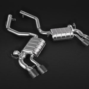 Capristo Valved Exhaust with Mid-Pipes with Carbon Tips CES3 with Remote - X5 (F15), X6 (F16)