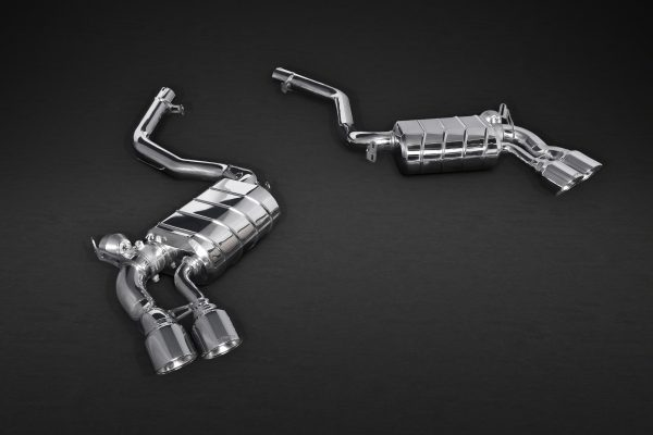 Capristo Valved Exhaust with Mid-Pipes with Stainless Tips CES3 with Remote - X5 (F15), X6 (F16)