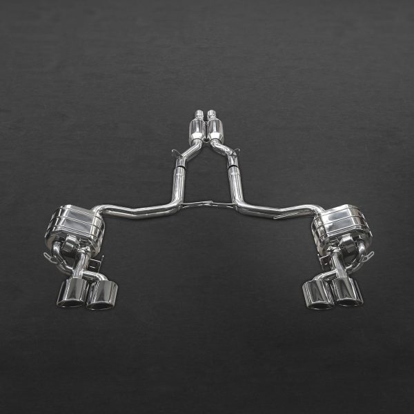 Capristo Valved Exhaust with Middle Silencer Pipes CES3 with Remote - C63 AMG (W204)