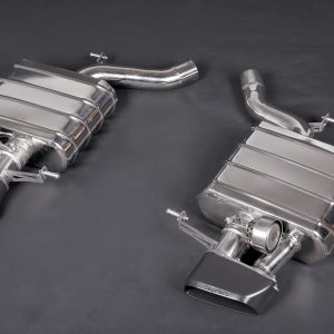 Capristo Valved Exhaust with Middle Silencer and Skirt Diffuser CES3 with Remote