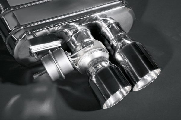 Capristo Valved Exhaust with Post Cat Spare Pipes - 599