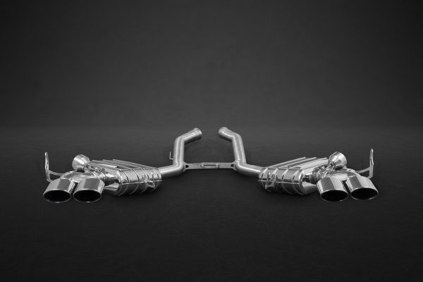 Capristo Valved Exhaust with Stainless Tips CES3 with Remote - ML (W164)