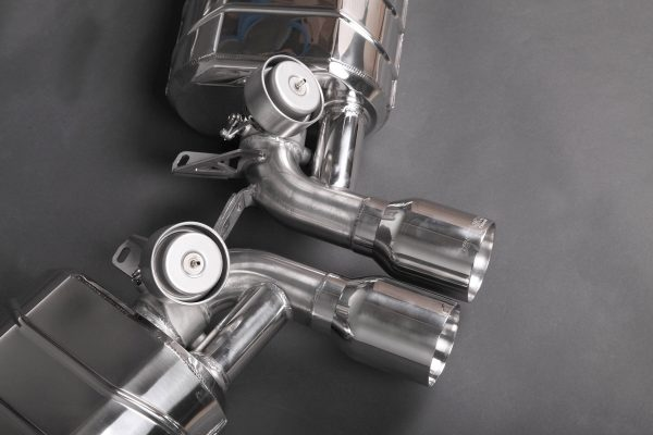 Capristo Valved Exhaust with Stainless Tips (for PSE) - 981/982 Boxster/Cayman/GT4/718