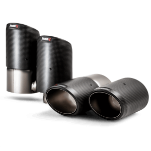 Akrapovic Carbon Fiber Exhaust Tips - Cayenne (536)