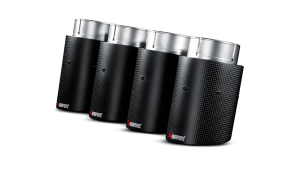 Akrapovic Carbon Fiber Exhaust Tips - M6 Gran Coupe (F06)
